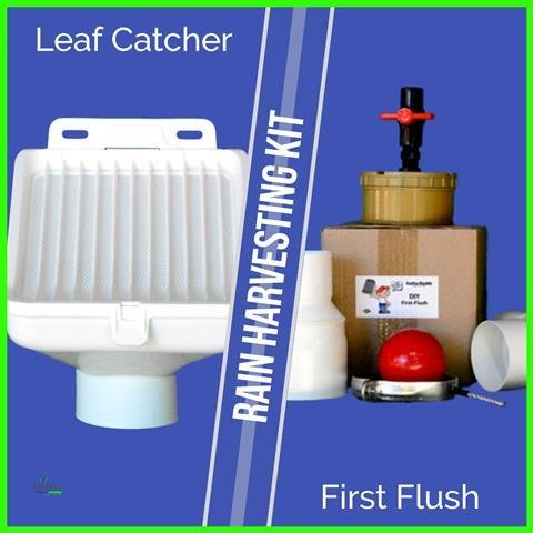 First Flush & Leaf Trap Combo Kit