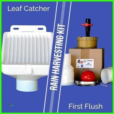 First Flush & Leaf Trap Combo Kit