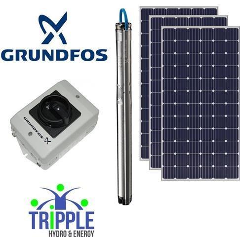 Grundfos Solar Combo7 (150m 5000L per day)