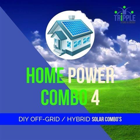 HOME POWER COMBO 4 (Excl Vat)