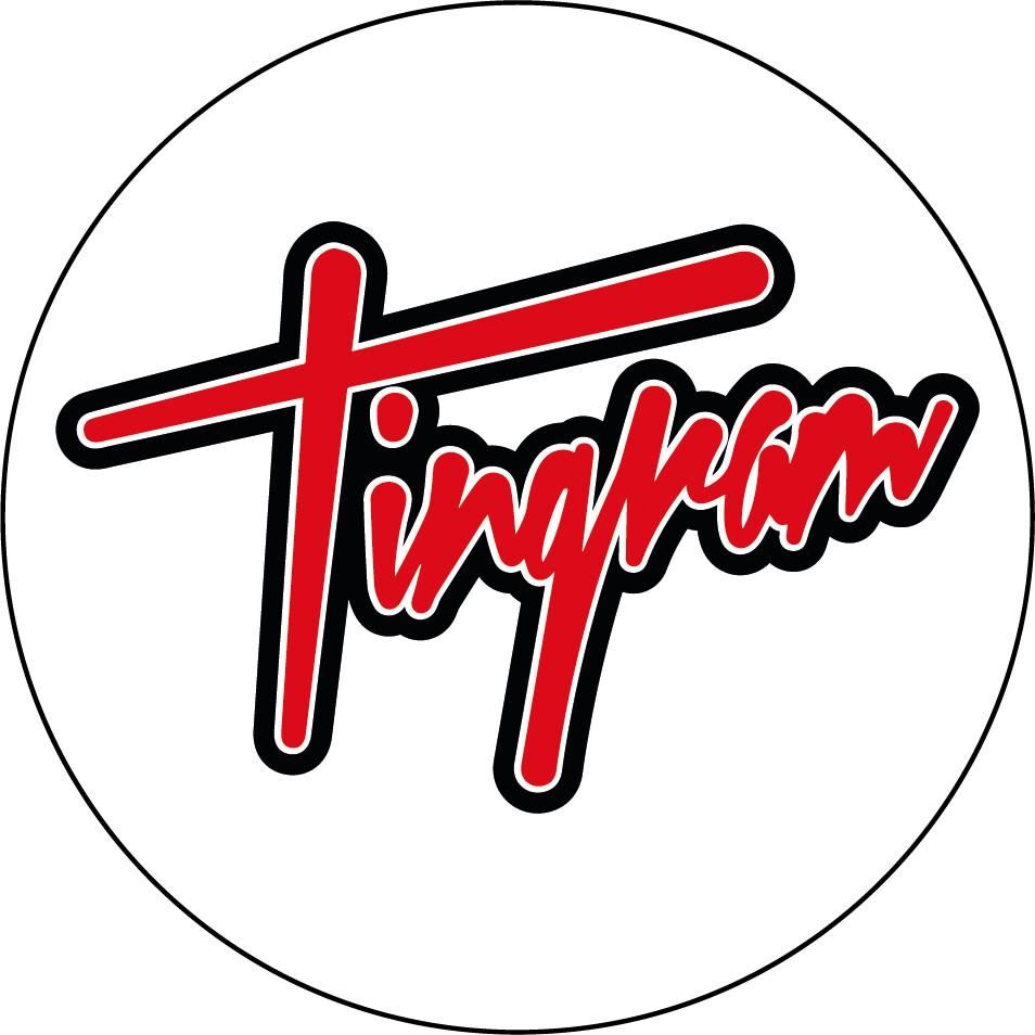 Tingram Oval Sticker