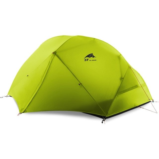 3F UL Gear 2 person Backpacking Tent & Footprint - 210T Polyester