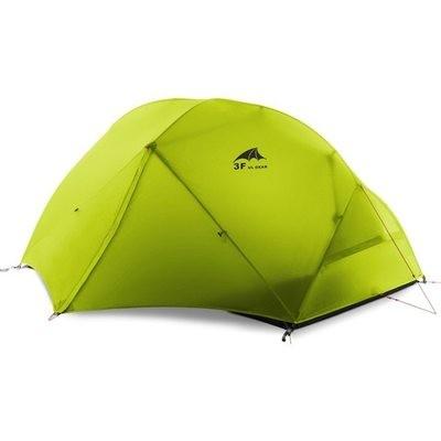 3F UL Gear 2 person, 4 Season 210T Backpacking Tent & Footprint
