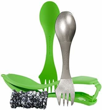 Light My Fire Titanium Ultimate Spork Kit