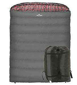 Teton Sport Mammoth -7 C Double Sleeping Bag - great for couples!