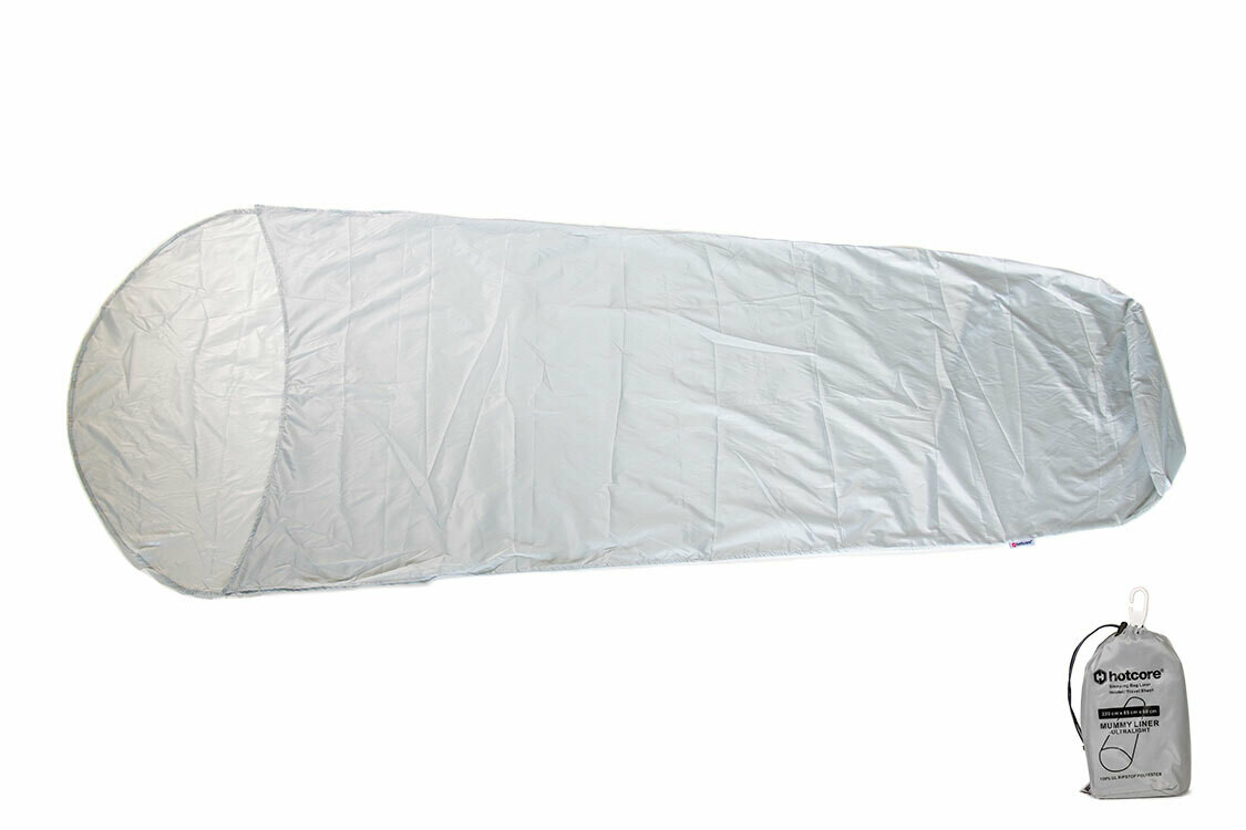 Ultralight(UL) Sleeping Bag Liners Hostel/Travel Sheet