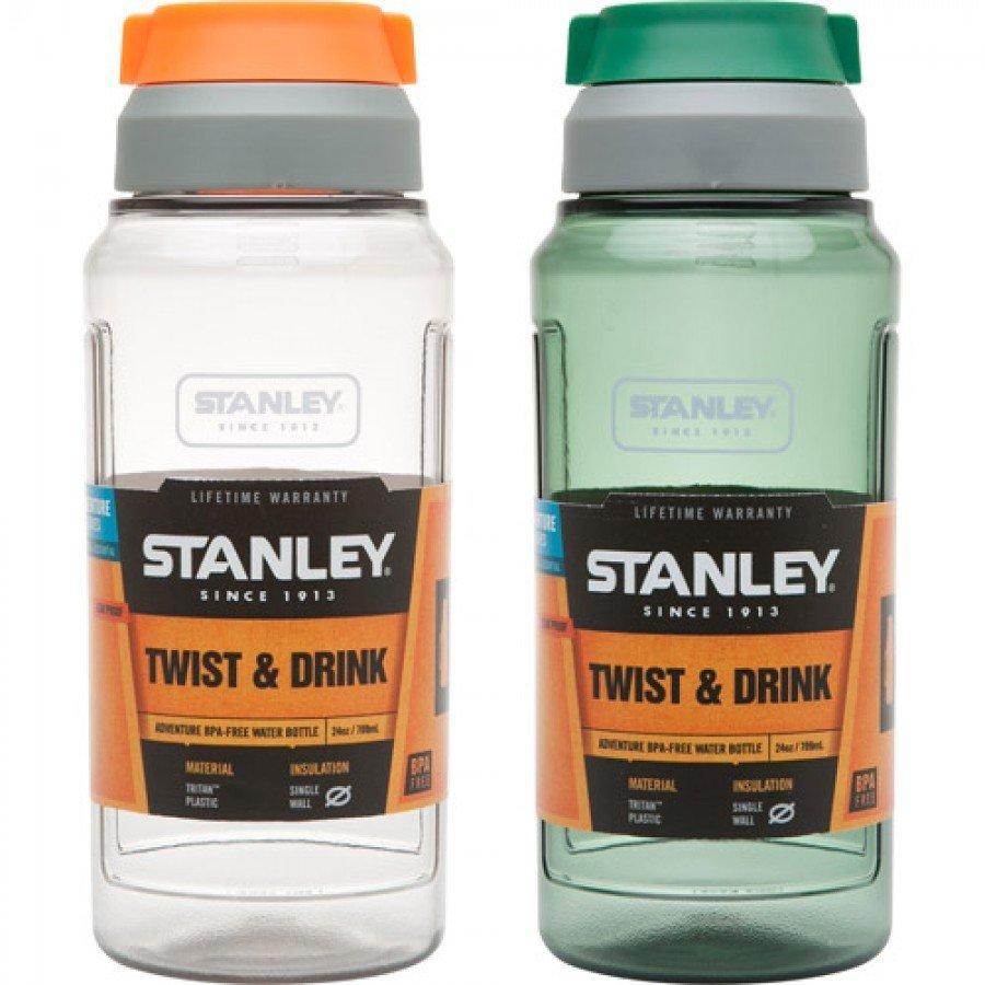STANLEY Classic Adventure 24 oz / .75L BPA-Free Water Bottle Twist & Drink