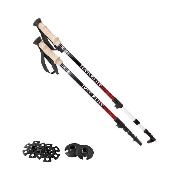 Yukon Charlie Trek Lite  Four Season Hiking Poles (pr)