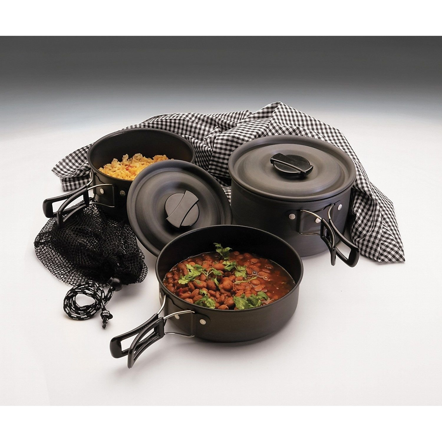 Texsport 'The Scouter' Hard Anodized Cook Set