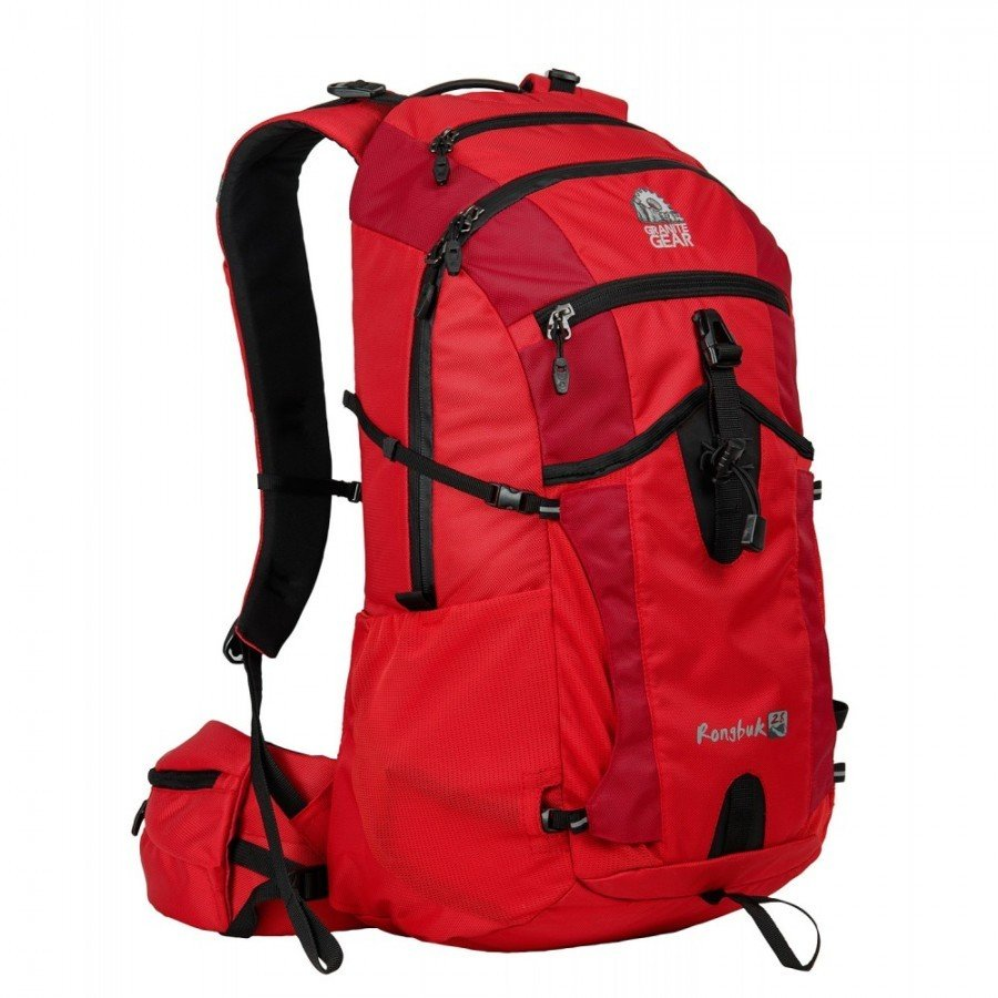 Granite Gear Rongbuk 28L Technical Day Backpack - RED, One Size fits all