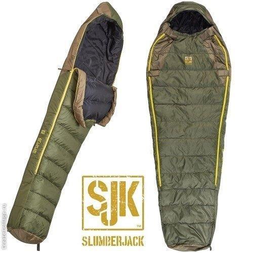 Slumberjack Lapland -28C DriDown Hybrid Sleeping Bag 550 Down