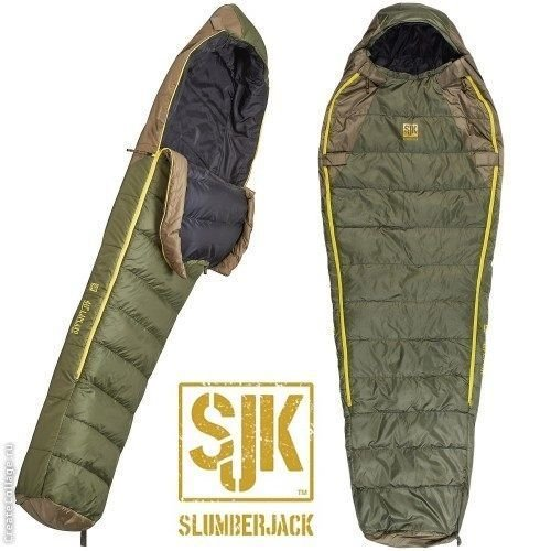 Slumberjack -7C Lapland Hybrid Down Sleeping Bag - Long Fit
