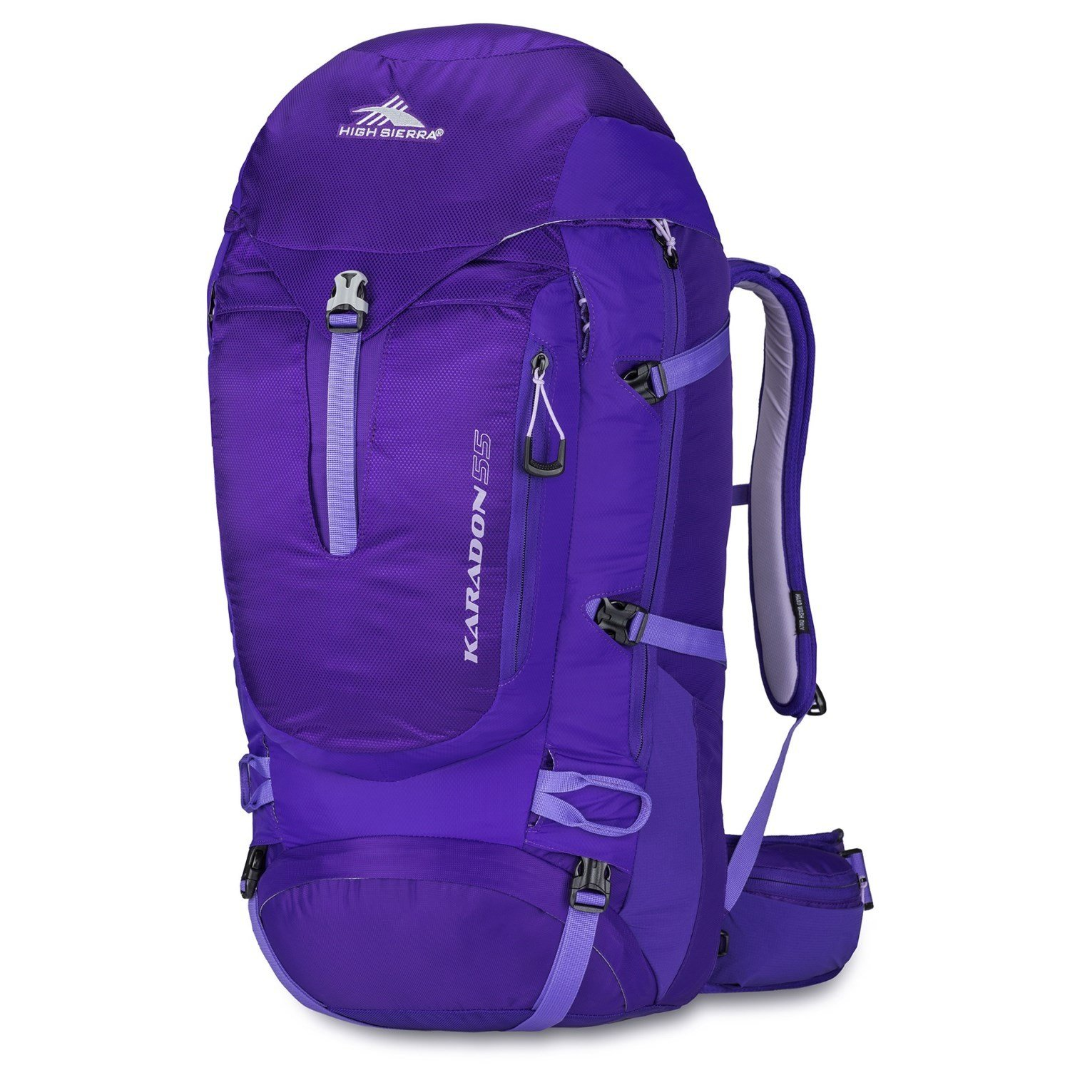 High Sierra Karadon 55L Women's Backpack M/L Torso
