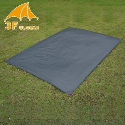 "3F UL Gear 3 person tent multi-use footprint 64"" x 81"""