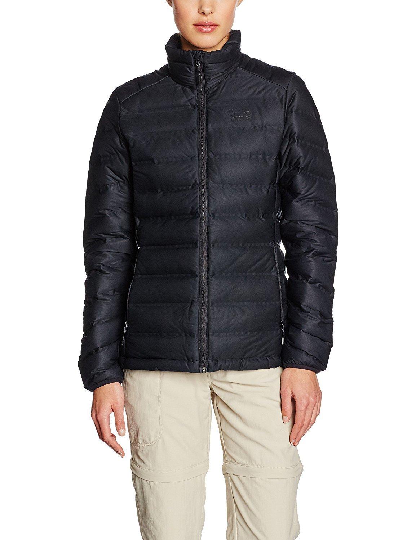 Mountain Hardwear StretchDown 750 Down Jacket - Women's Black X-Large