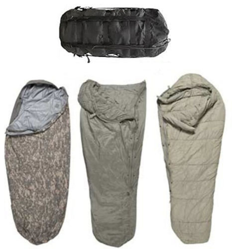 US Military Four Piece Modular Sleeping Bag system Minus 30C - 100% Authentic