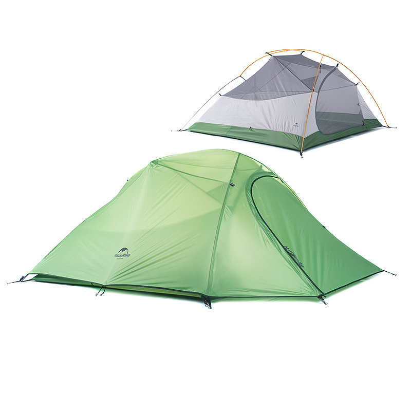 Naturehike Cloud Up 3 Person, 3 Season Backpacking Tent c/w Dry Pitch Footprint