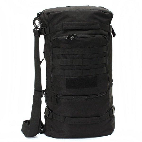 CKO 50L Multifunctional Backpack Shoulder Handbag Trekking Bag - Black