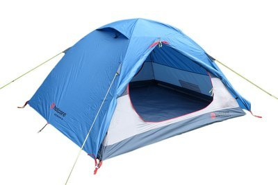 Hotcore Boson 3 Person Camping Tent c/w Custom Groundsheet