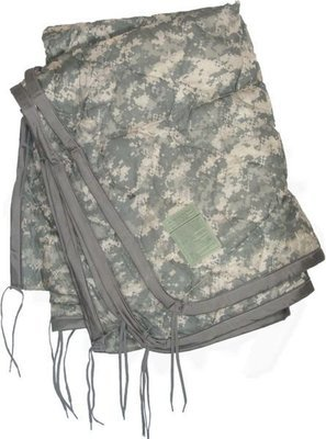 US Military All Weather Poncho Liner Blanket - multi-functional