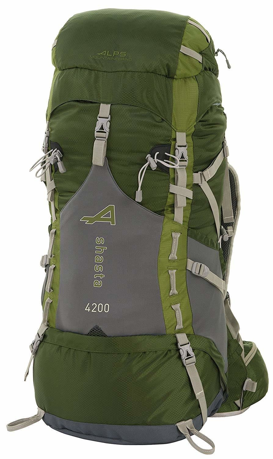 ALPS Mountaineering Shasta 70L Backpack - Adjustable Fit