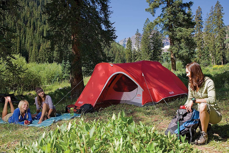 Coleman Hooligan 4 Person Family Tent w/Huge Vestibule