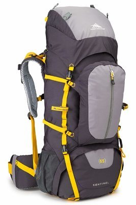 High Sierra Classic 2 Series Sentinel 65L backpack - Adjustable Fit