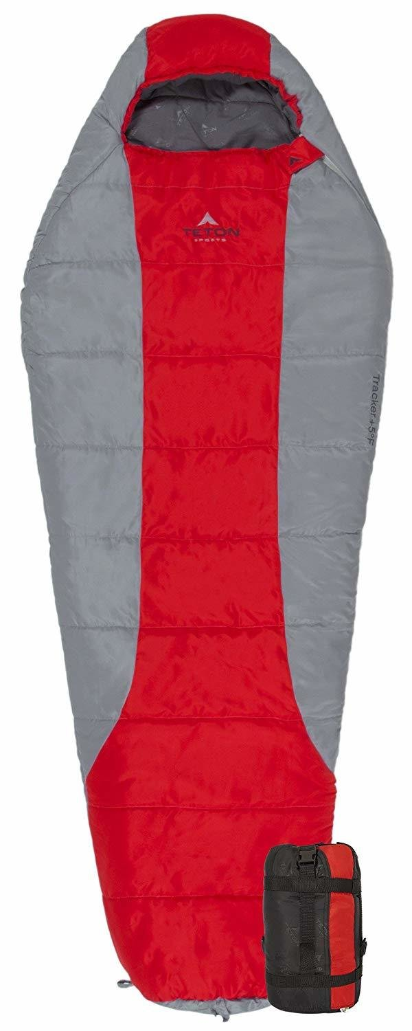 Teton Tracker Scout -15C Short (Youth/Women) Sleeping Bag, fits up to 5 ft 6""