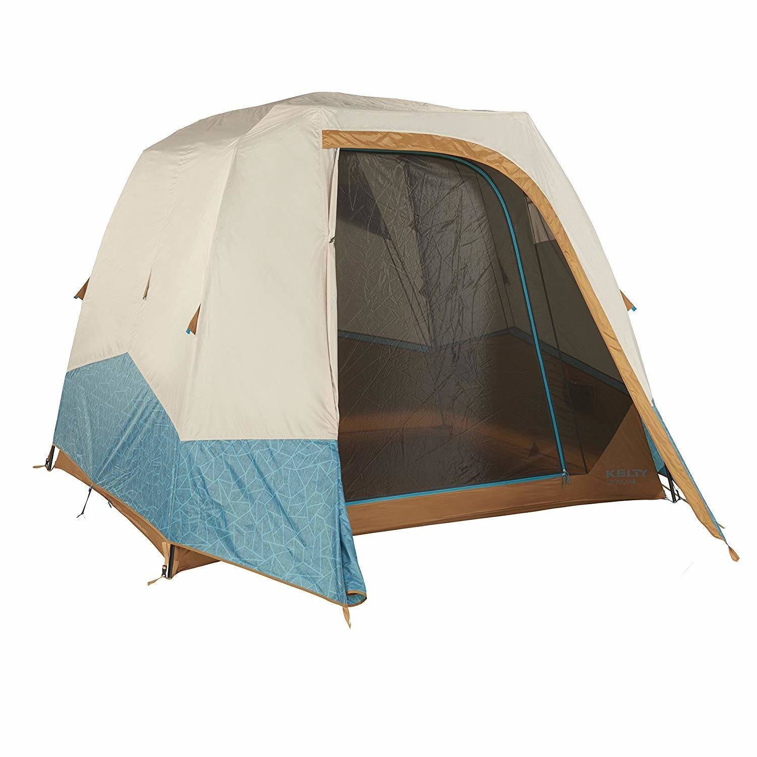 "Kelty Sequoia 4 Person Family Tent - 78"" Interior Height!!!"