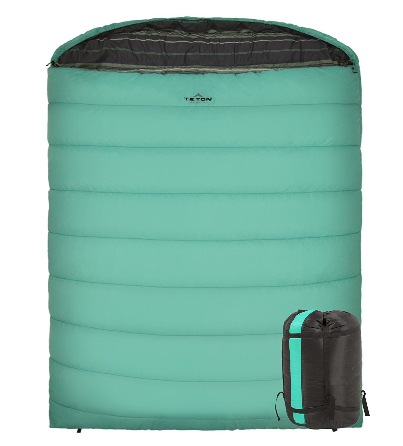 Teton Sport Mammoth -18 C Double Sleeping Bag - great for couples!