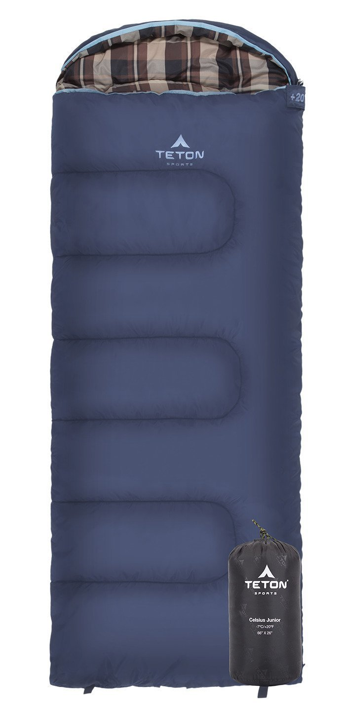 Teton Sports Celsius Junior / Kids -7C Sleeping Bag - LH Zip