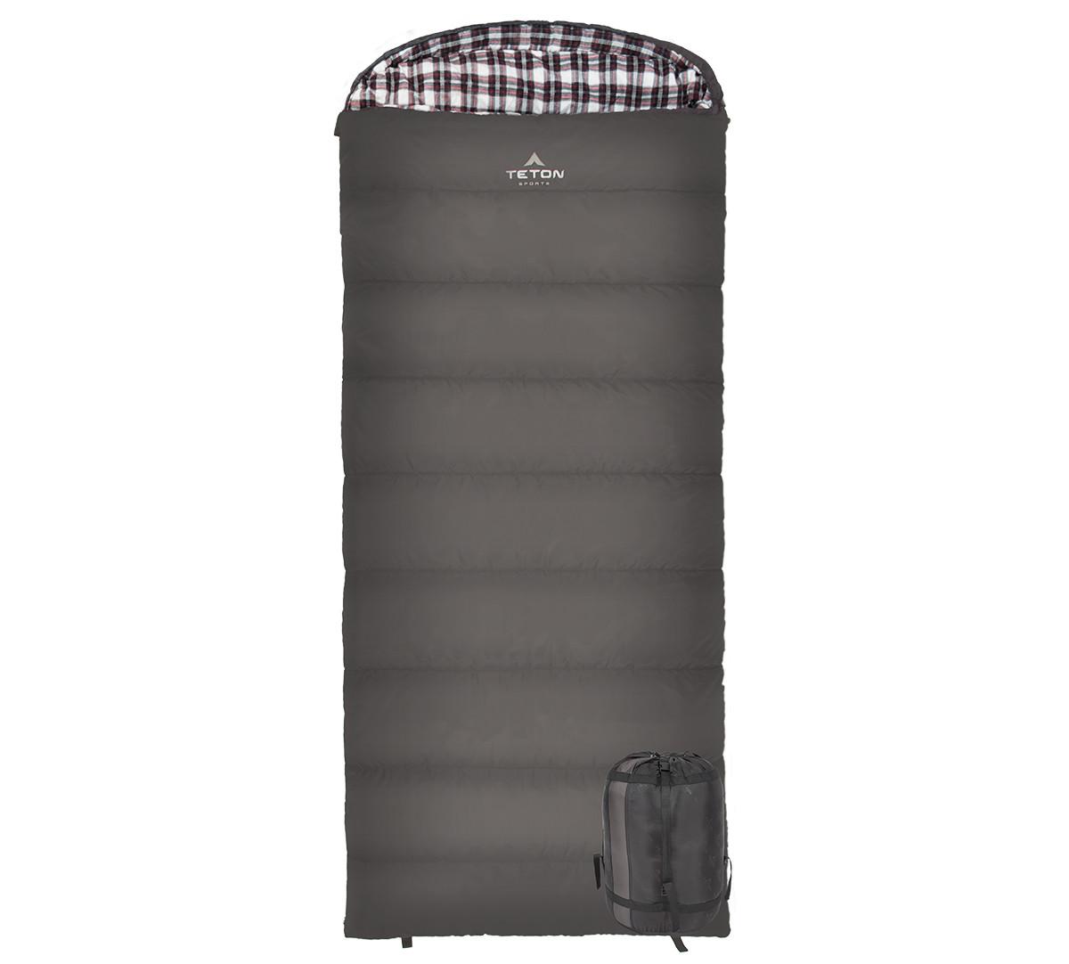 TETON Sports Fahrenheit XXL Sleeping Bag - +20F/-6C - Right Zip