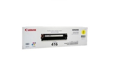 Canon Yellow Toner Cartridge [EP-416 Y]