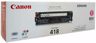 Canon Magenta Toner Cartridge [EP-418 M]