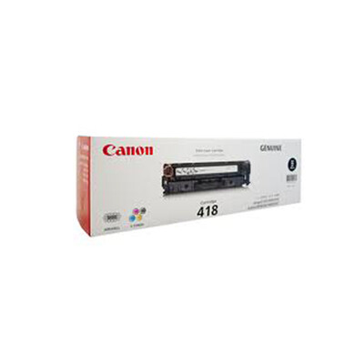 Canon Black Toner Cartridge [EP-418 BK]