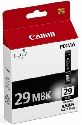 CANON PGI-29 Black Ink Cartridge