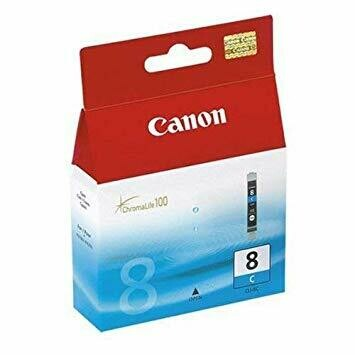 CANON CLI-8 Cyan Ink Cartridge