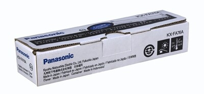 Panasonic Black Toner Cartridge [KX-FA76A]