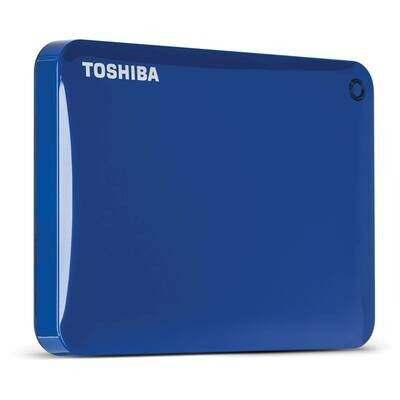Toshiba Hardisk Canvio Connect II 3.0 Portable Hard Drive 2TB
