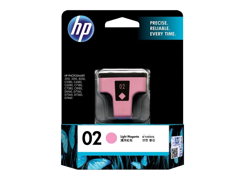 HP Light Magenta Ink Cartridge 02 [C8775WA]