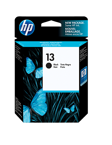 HP Black Ink Cartridge 13 [C4814A]