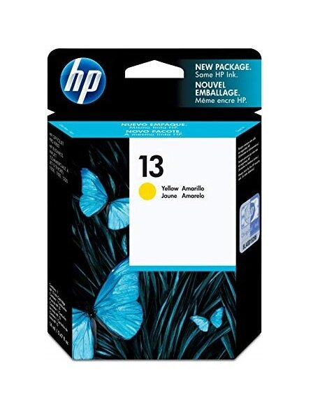 HP Yellow Ink Cartridge 13 [C4817A]