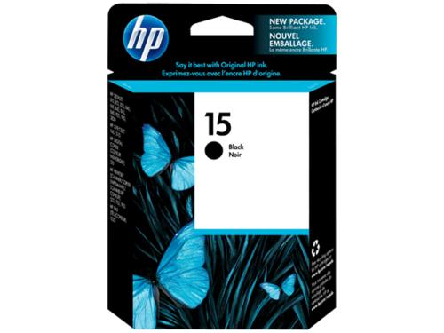 HP Black Ink Cartridge 15 [C6615DA]
