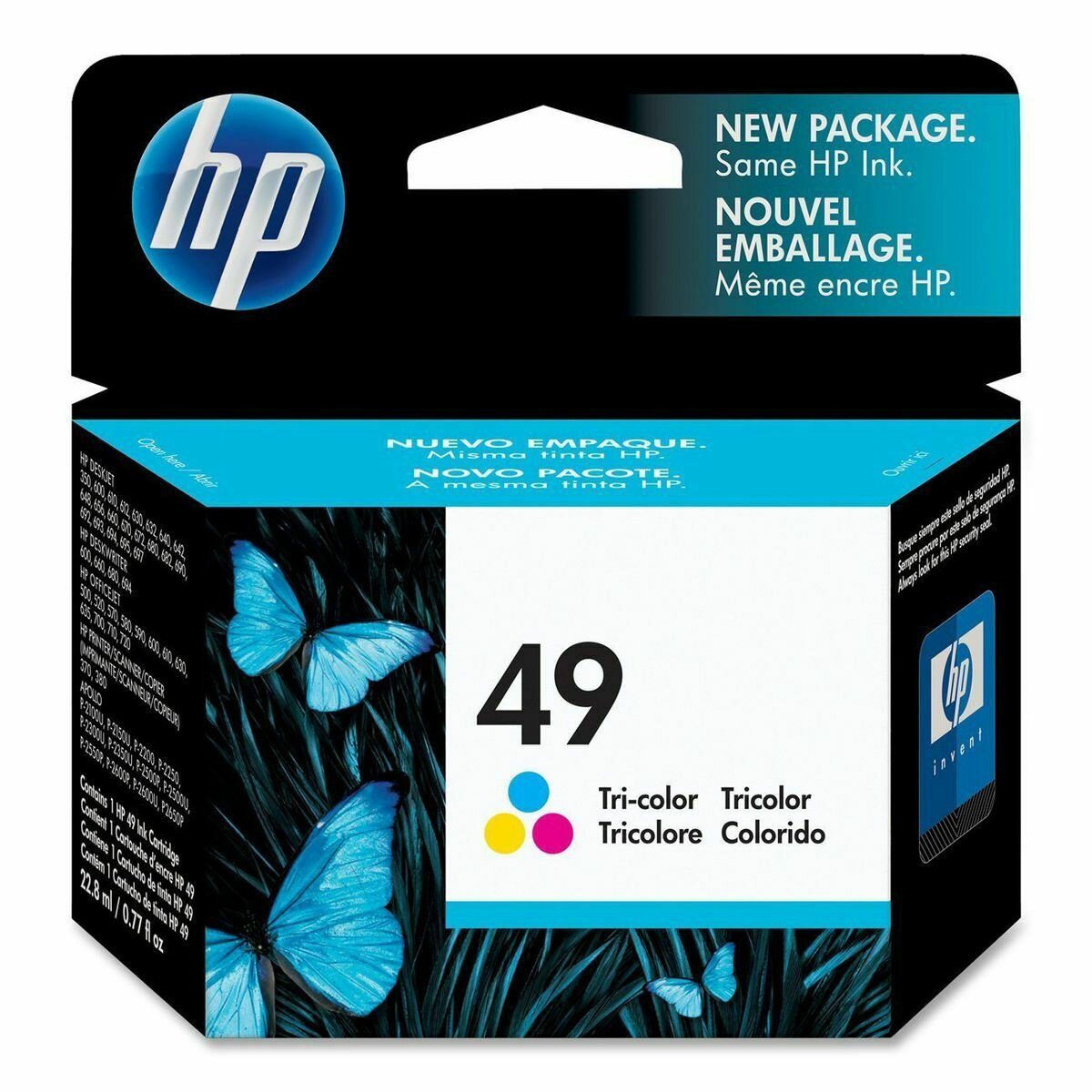 HP Tri-Color Ink Cartridge 49A [51649AA]