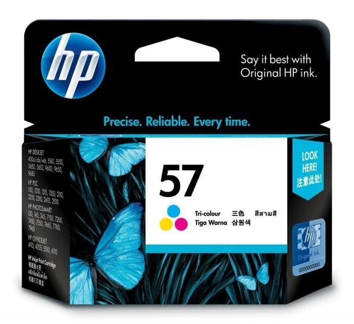 HP Tri-Color Ink Cartridge 57 [C6657AA]
