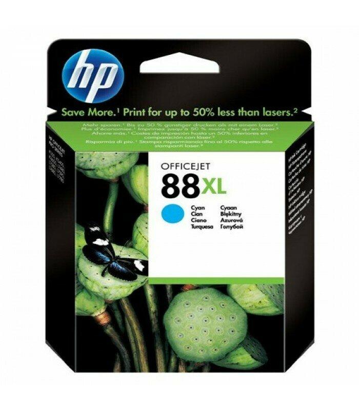 HP Cyan Ink Cartridge 88XL [C9391A]