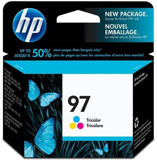 HP Tri-Color Ink Cartridge 97 [C9363WA]
