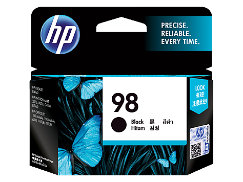 HP Black Ink Cartridge 98 [C9364WA]
