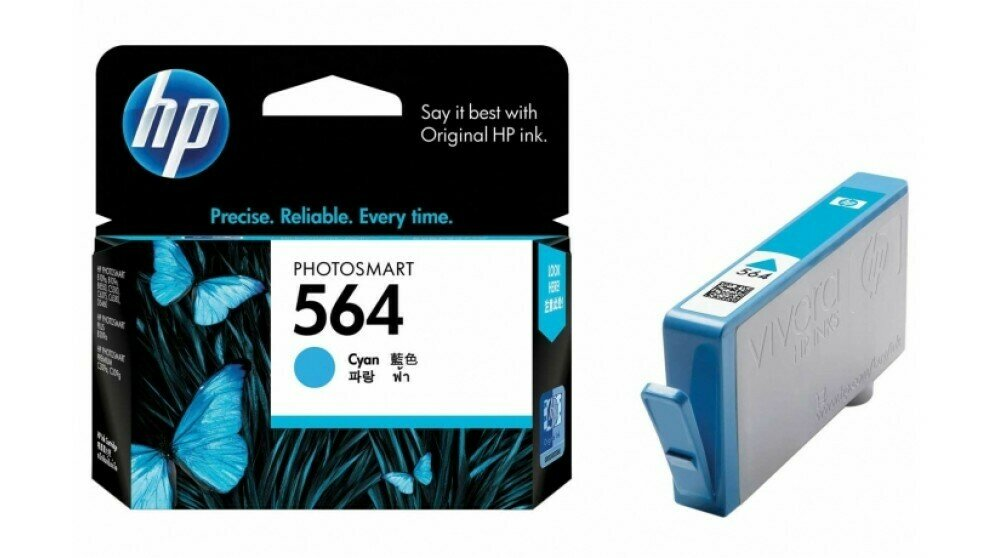 HP Cyan Ink Cartridge 564 [CB318WA]