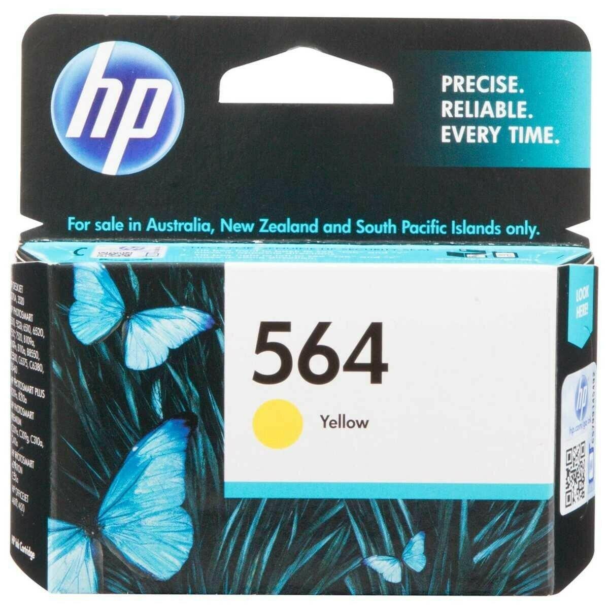 HP Yellow Ink Cartridge 564 [CB320WA]